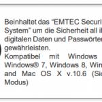 EMTEC CLICK DATEN 2